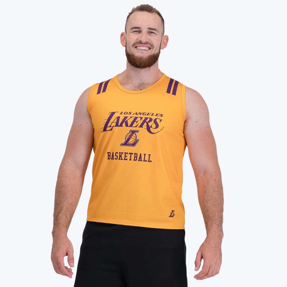 LA Lakers Vest (Yellow), product, variation 6