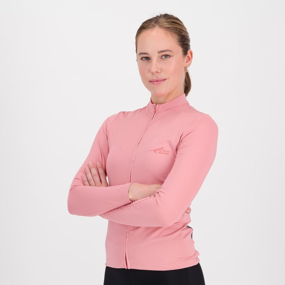 First Ascent Women's Element Long Sleeve Cycling Jersey, product, variation 1