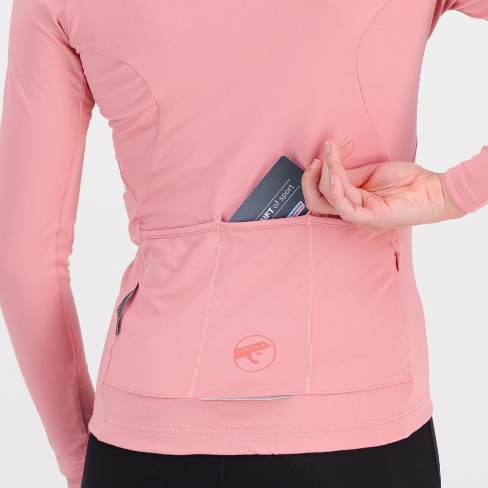 First Ascent Women's Element Long Sleeve Cycling Jersey, product, variation 5