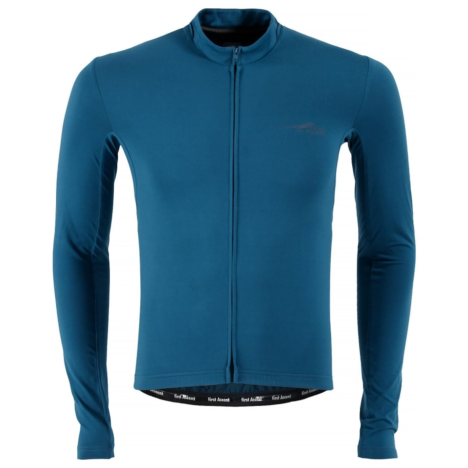 First Ascent Men's Element Long Sleeve Cycling Jersey, product, variation 1