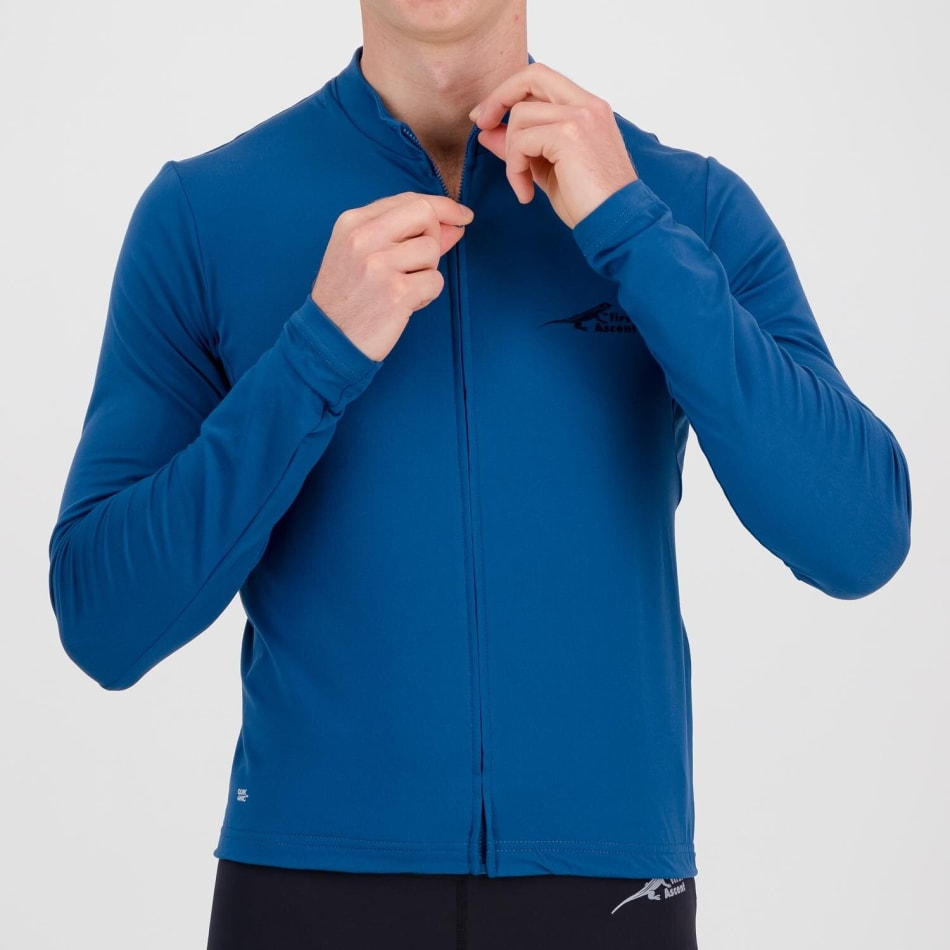 First Ascent Men's Element Long Sleeve Cycling Jersey, product, variation 5