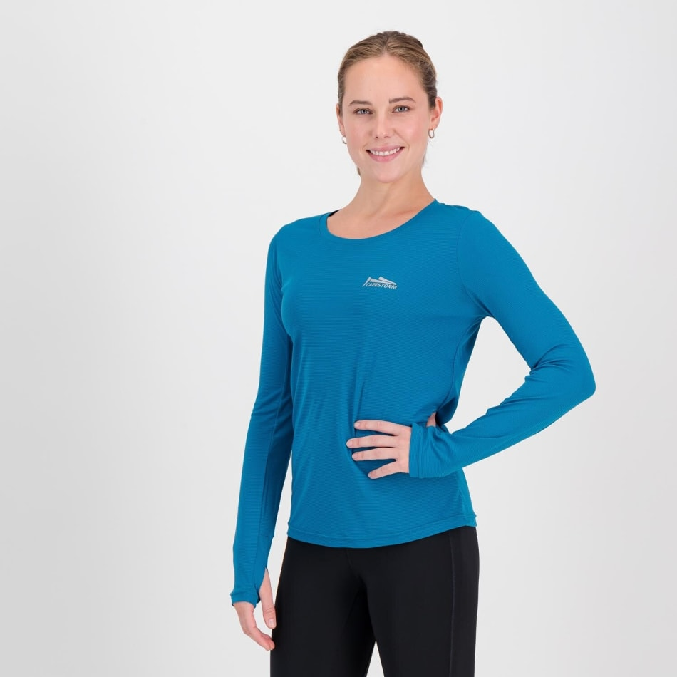 Capestorm Women's Essential Run Long Sleeve Top, product, variation 2