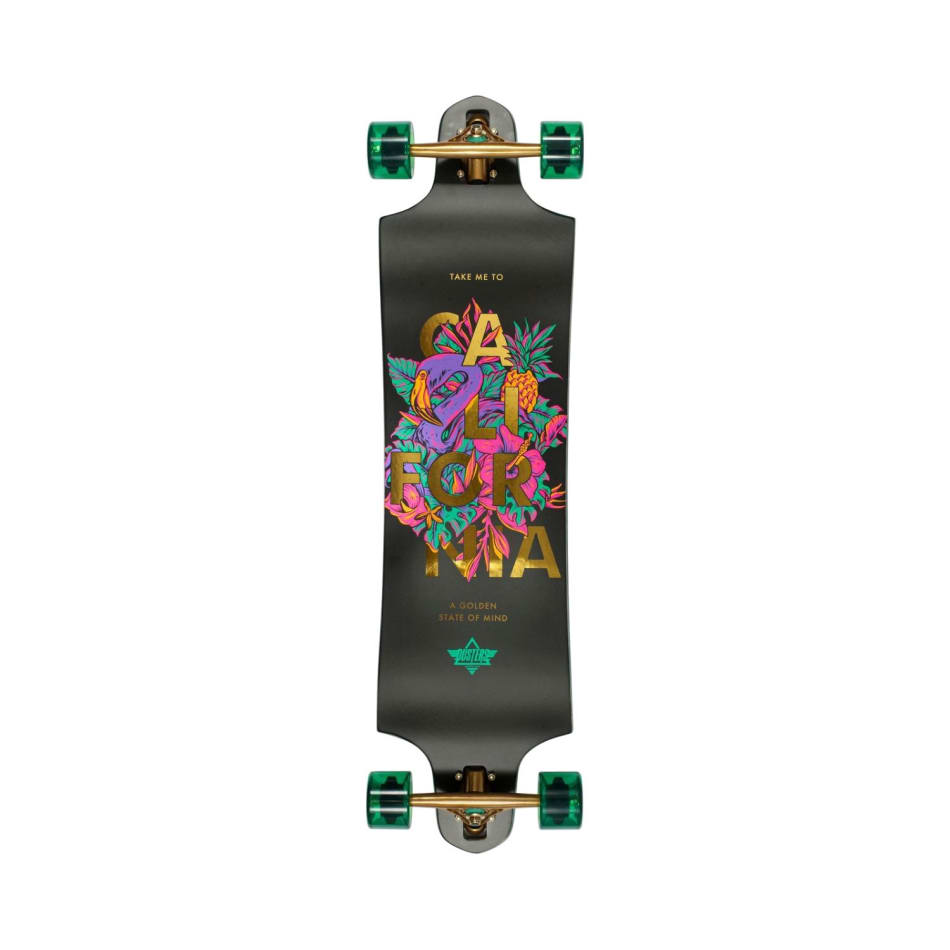 """Duster Golden State Drop Through Longboard 38"""", product, variation 1"""