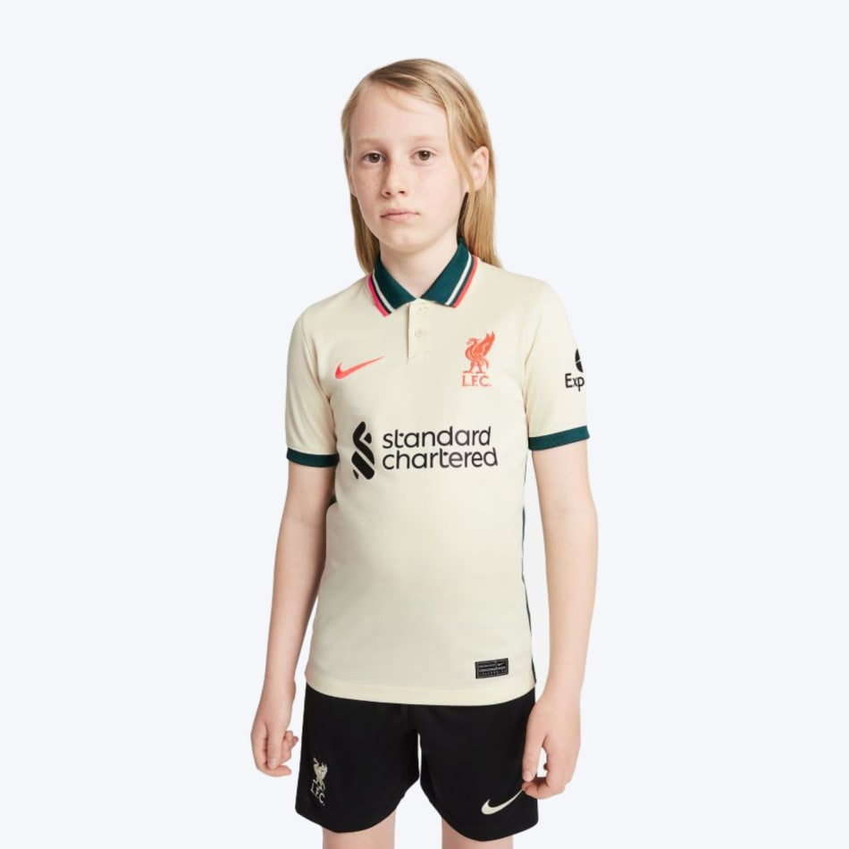 Liverpool Junior Away 21/22 Soccer Jersey, product, variation 1