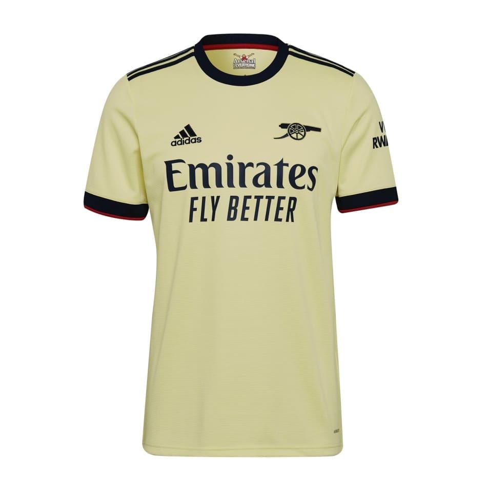 Arsenal Men's Away 21/22 Soccer Jersey, product, variation 1