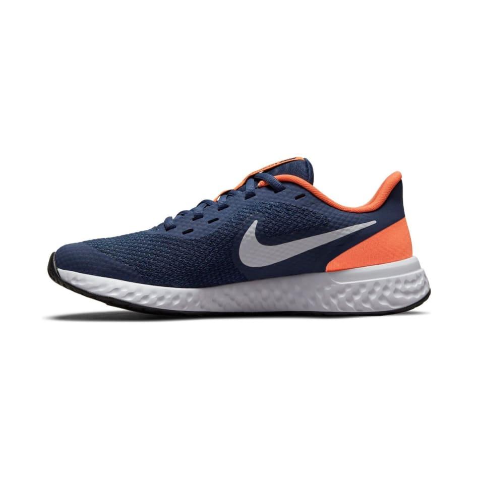 Nike Jnr Revolution 5 Boys Running Shoes, product, variation 2