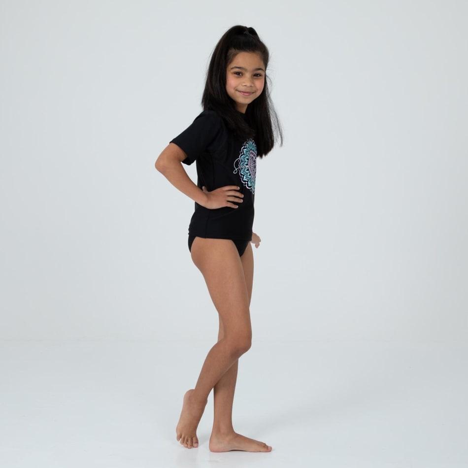 Second Skins Girls Mandala Short Sleeve Rasvest, product, variation 3