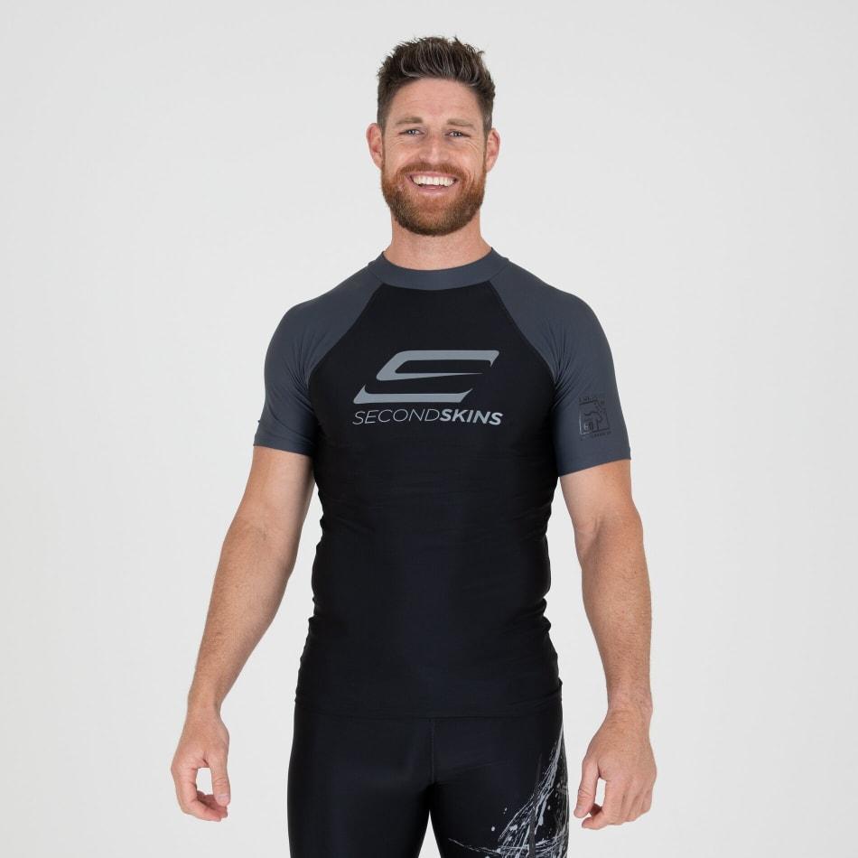 Second Skins Men's Iconic Short Sleeve Rasvest, product, variation 2