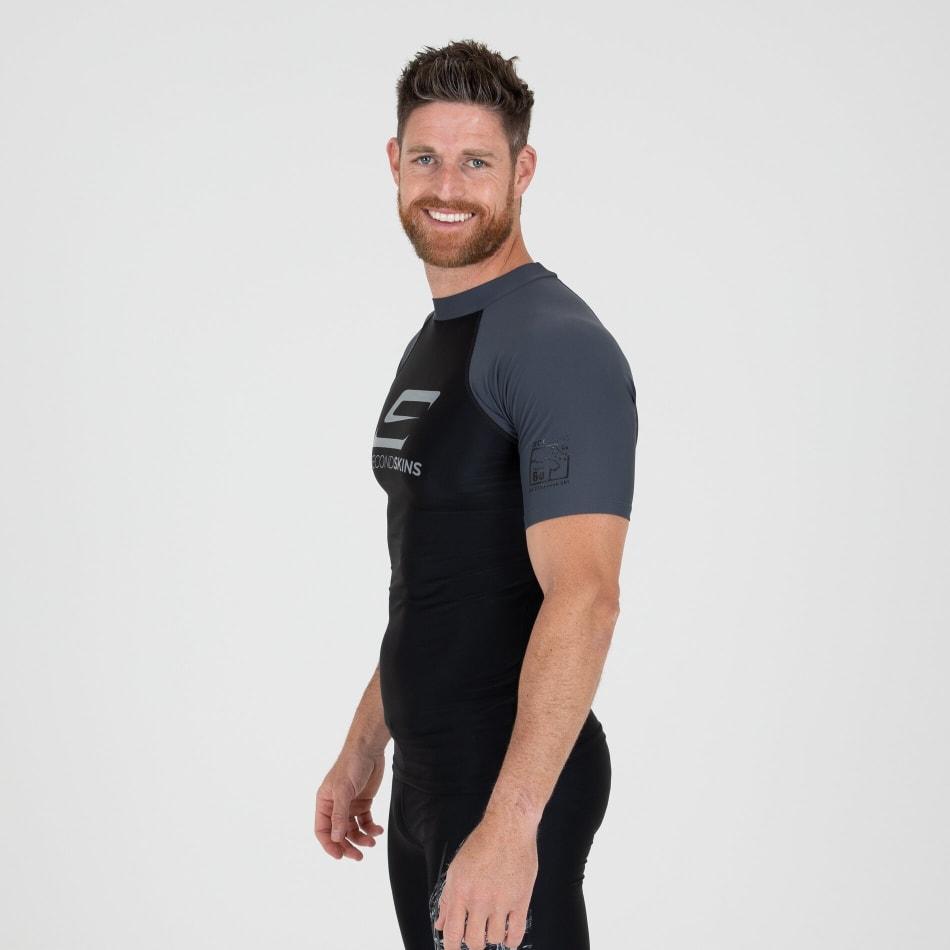 Second Skins Men's Iconic Short Sleeve Rasvest, product, variation 3