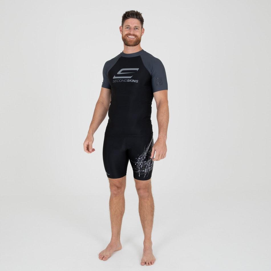 Second Skins Men's Iconic Short Sleeve Rasvest, product, variation 5