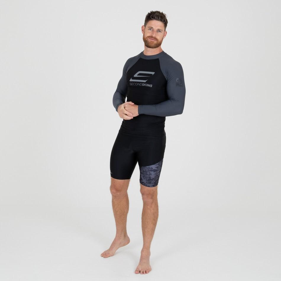 Second Skins Men's Iconic Long Sleeve Rashvest, product, variation 6