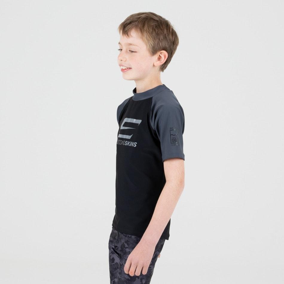 Second Skins Boys Iconic Short Sleeve Rasvest, product, variation 3