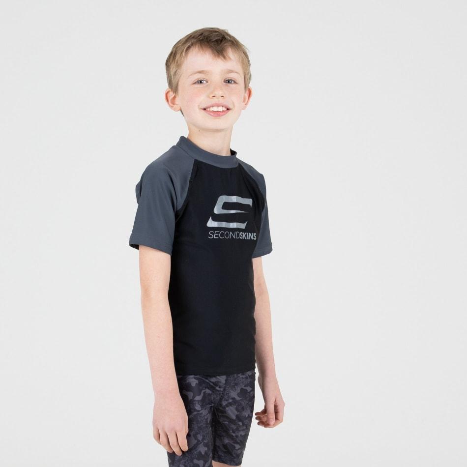 Second Skins Boys Iconic Short Sleeve Rasvest, product, variation 4