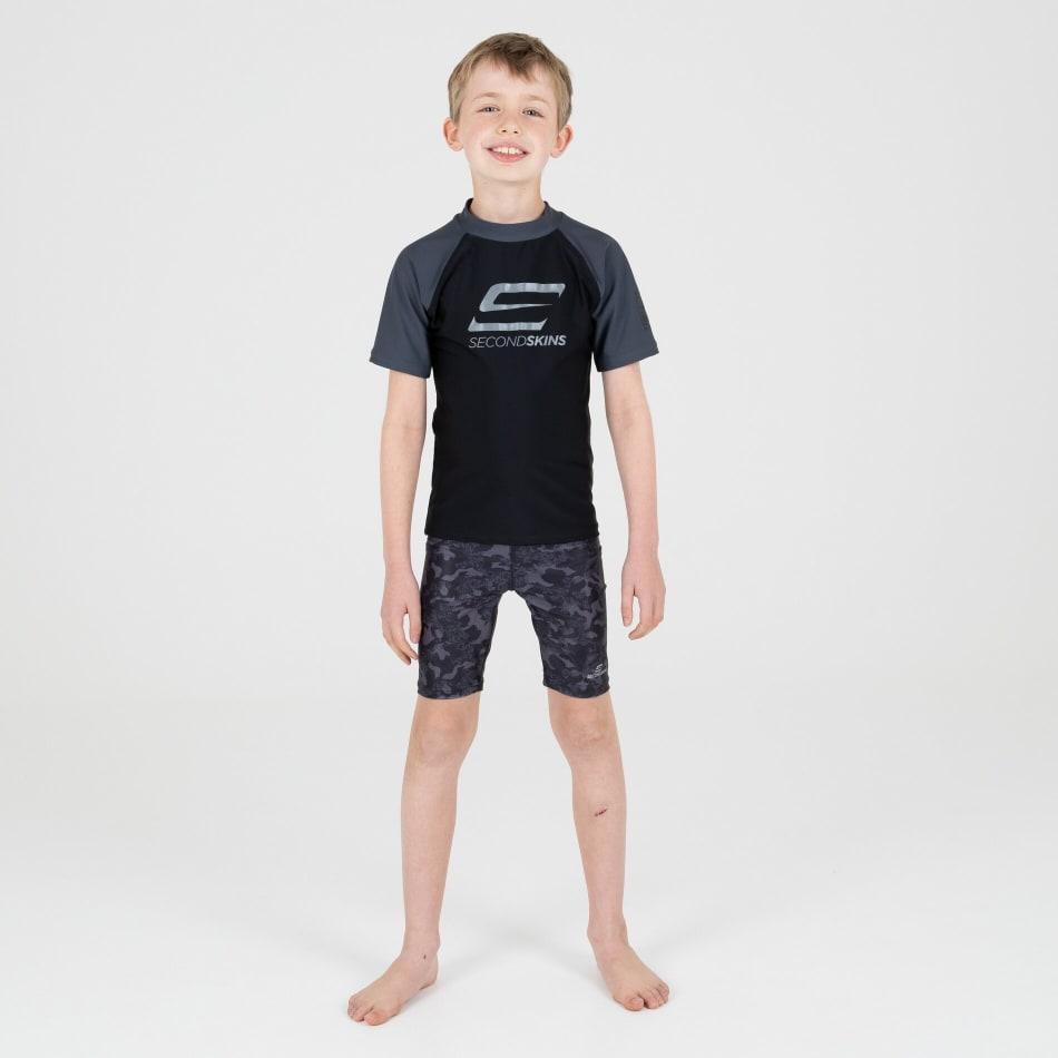 Second Skins Boys Iconic Short Sleeve Rasvest, product, variation 6
