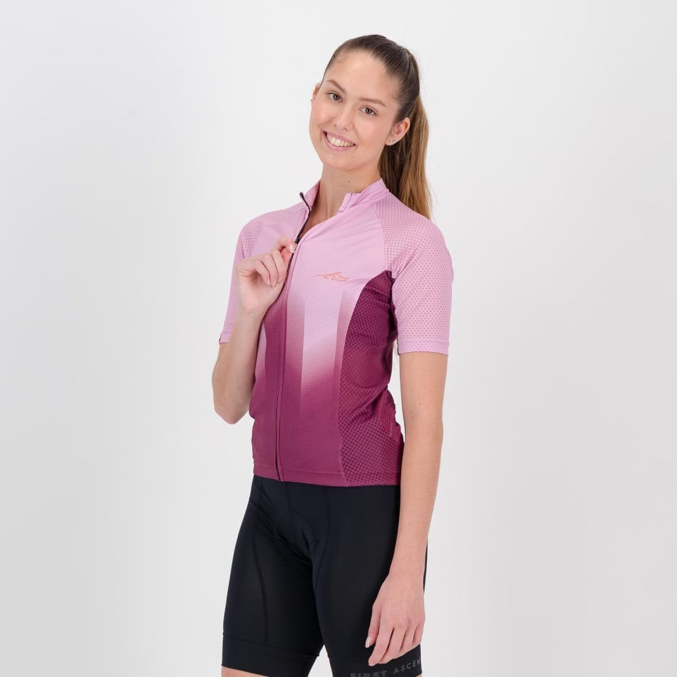 First Ascent Women's Cadence Cycling Jersey, product, variation 2