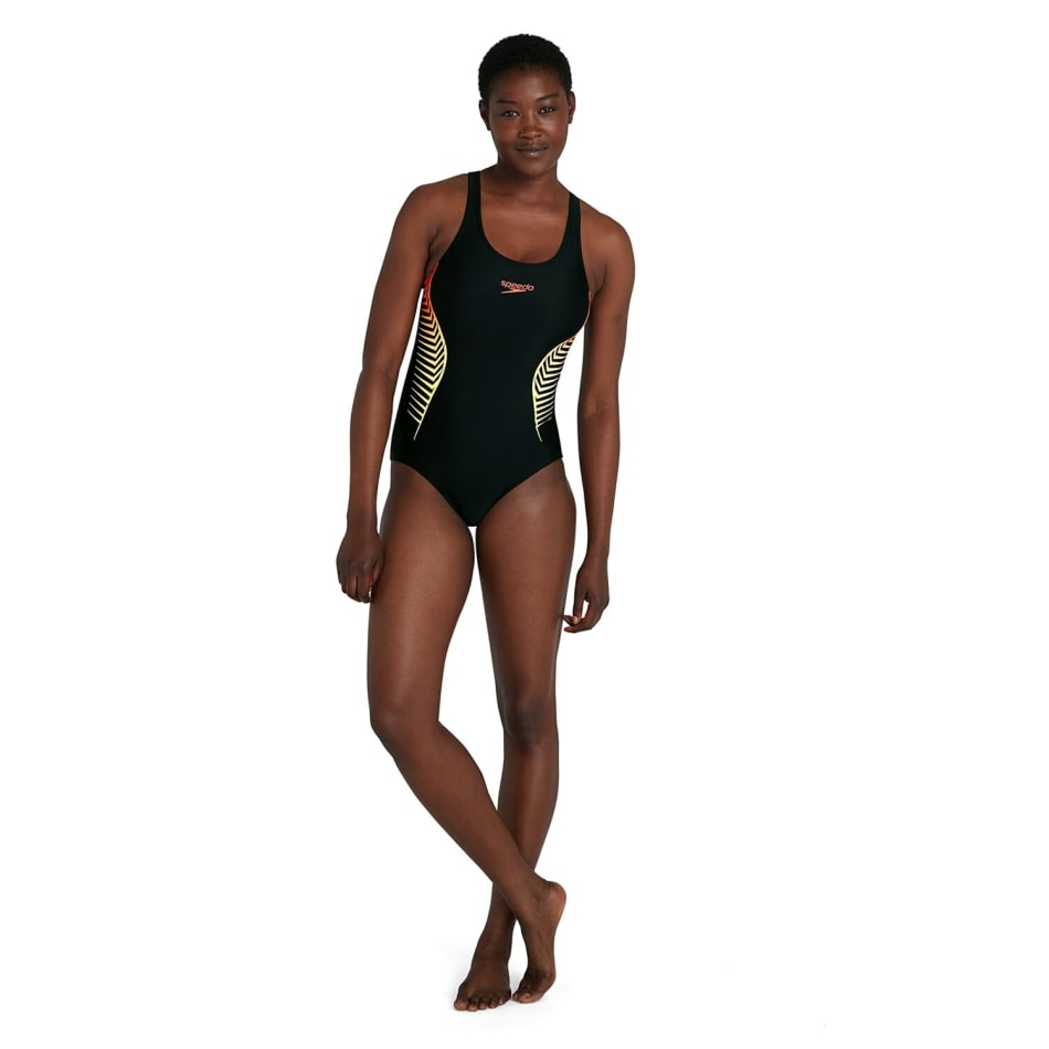 Speedo Women's Splice Placement Muscleback 1 Piece, product, variation 2