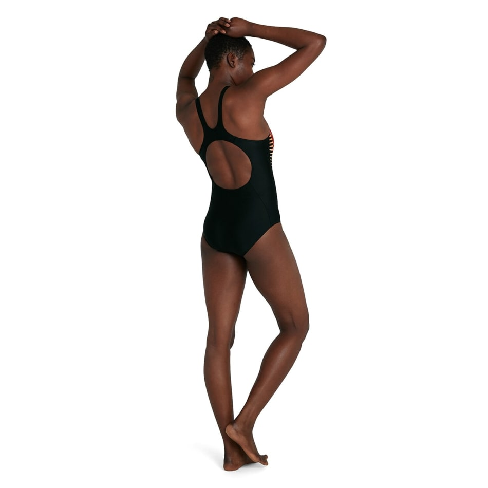 Speedo Women's Splice Placement Muscleback 1 Piece, product, variation 3