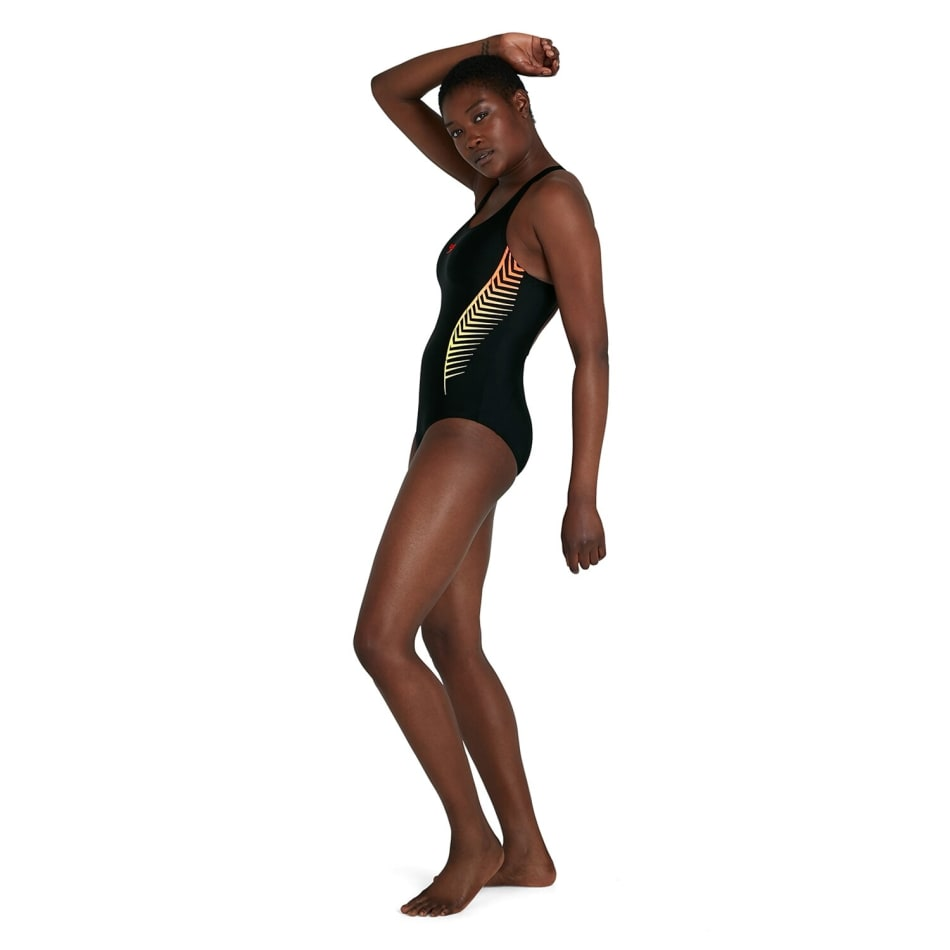 Speedo Women's Splice Placement Muscleback 1 Piece, product, variation 4