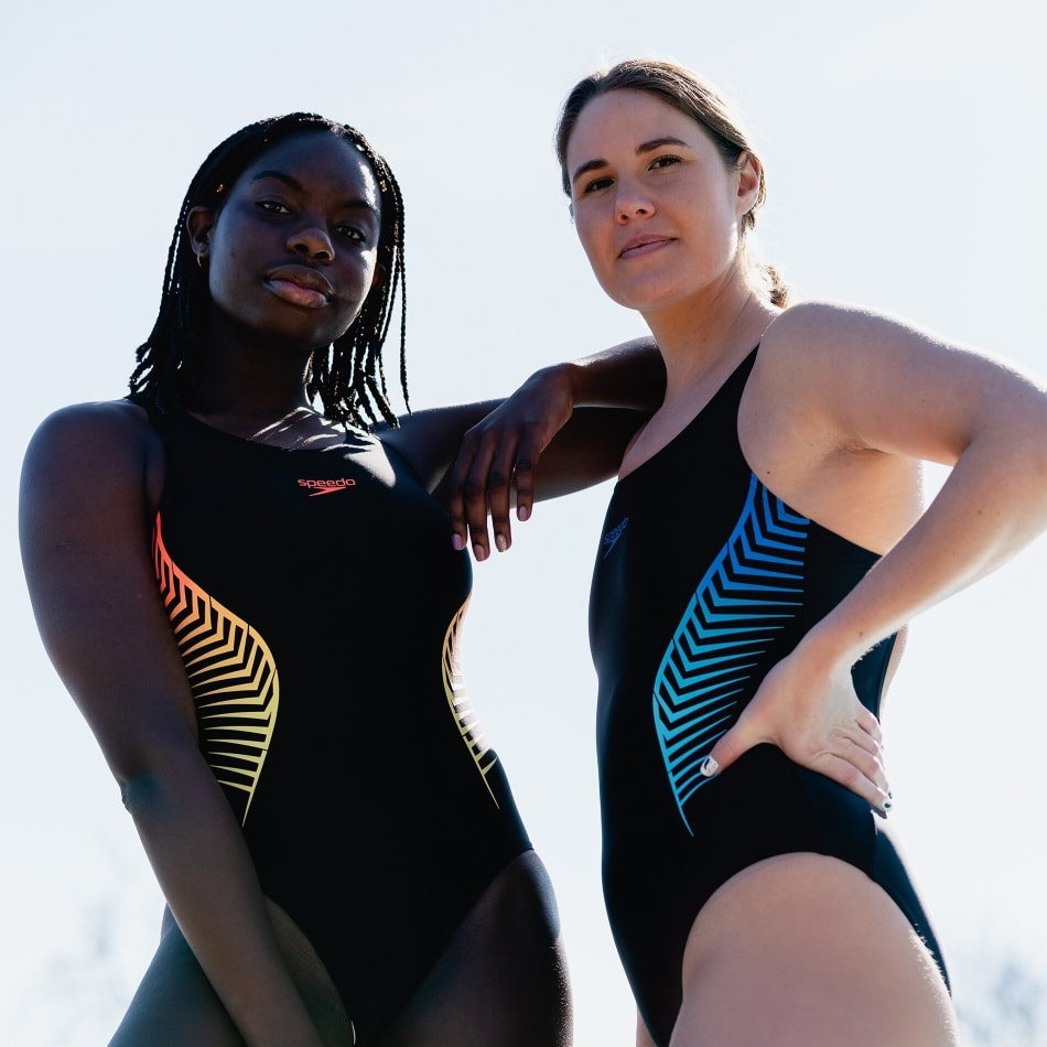 Speedo Women's Splice Placement Muscleback 1 Piece, product, variation 7