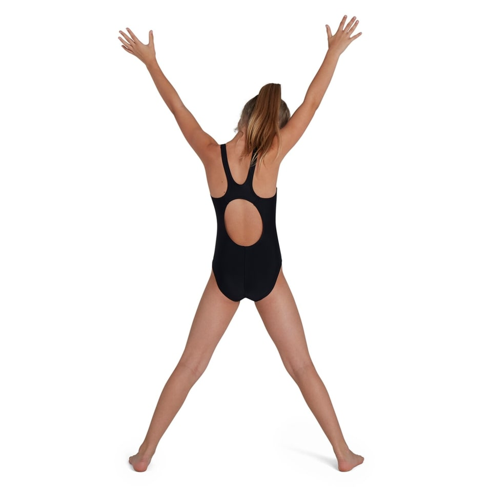 Speedo Girls Plastisol Placement Muscleback 1 Piece, product, variation 3