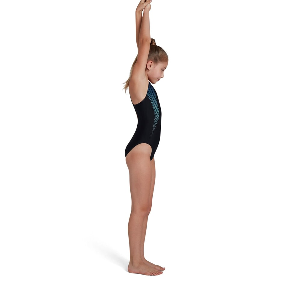 Speedo Girls Plastisol Placement Muscleback 1 Piece, product, variation 4