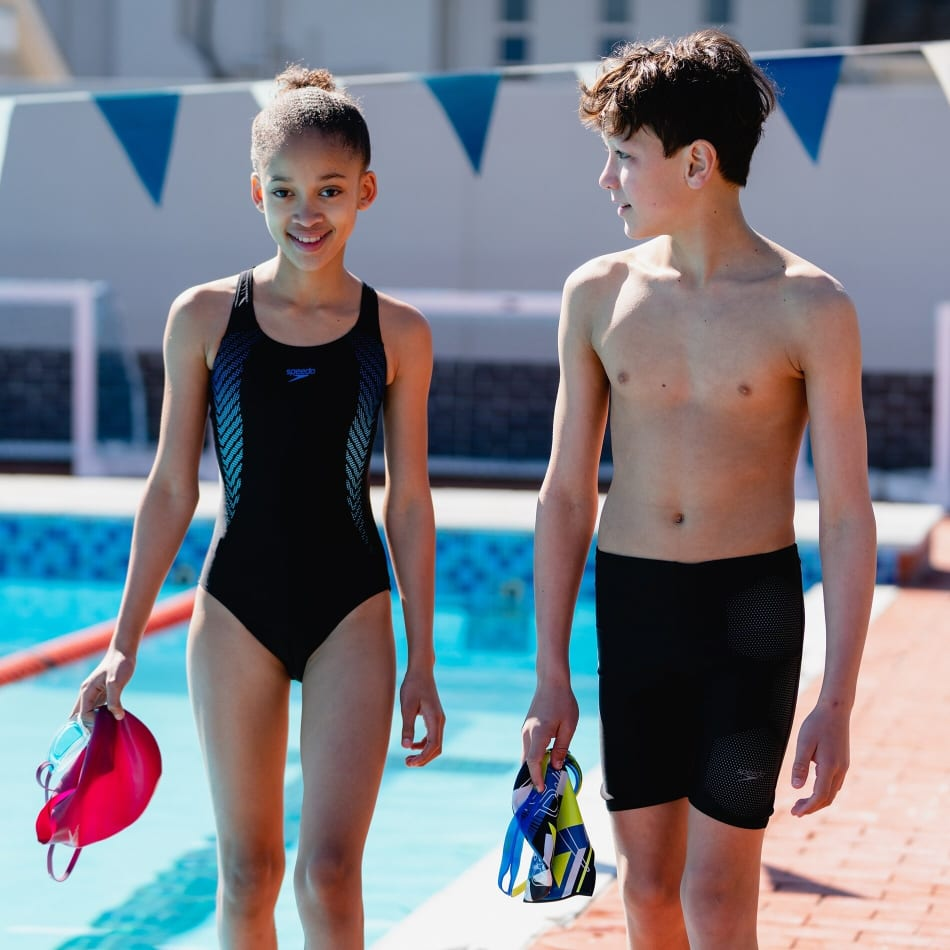 Speedo Girls Plastisol Placement Muscleback 1 Piece, product, variation 6