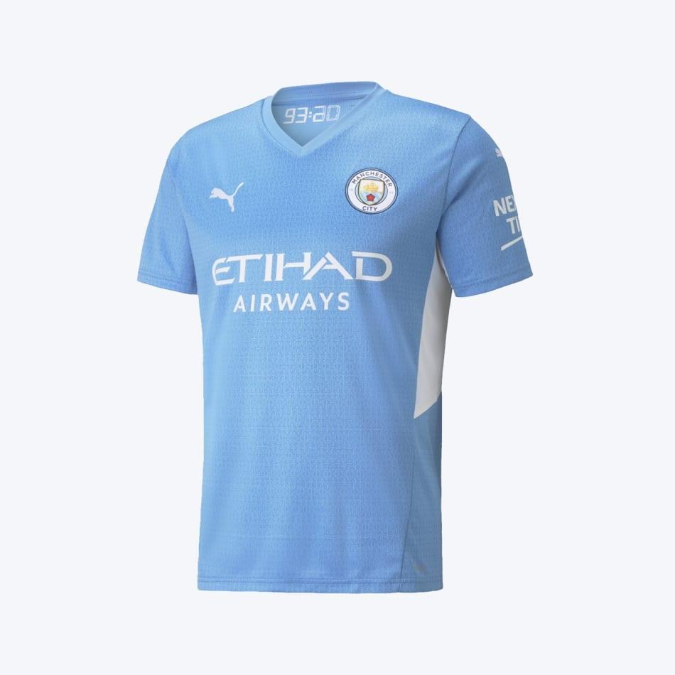 Man City Men's Home 21/22 Soccer Jersey, product, variation 1