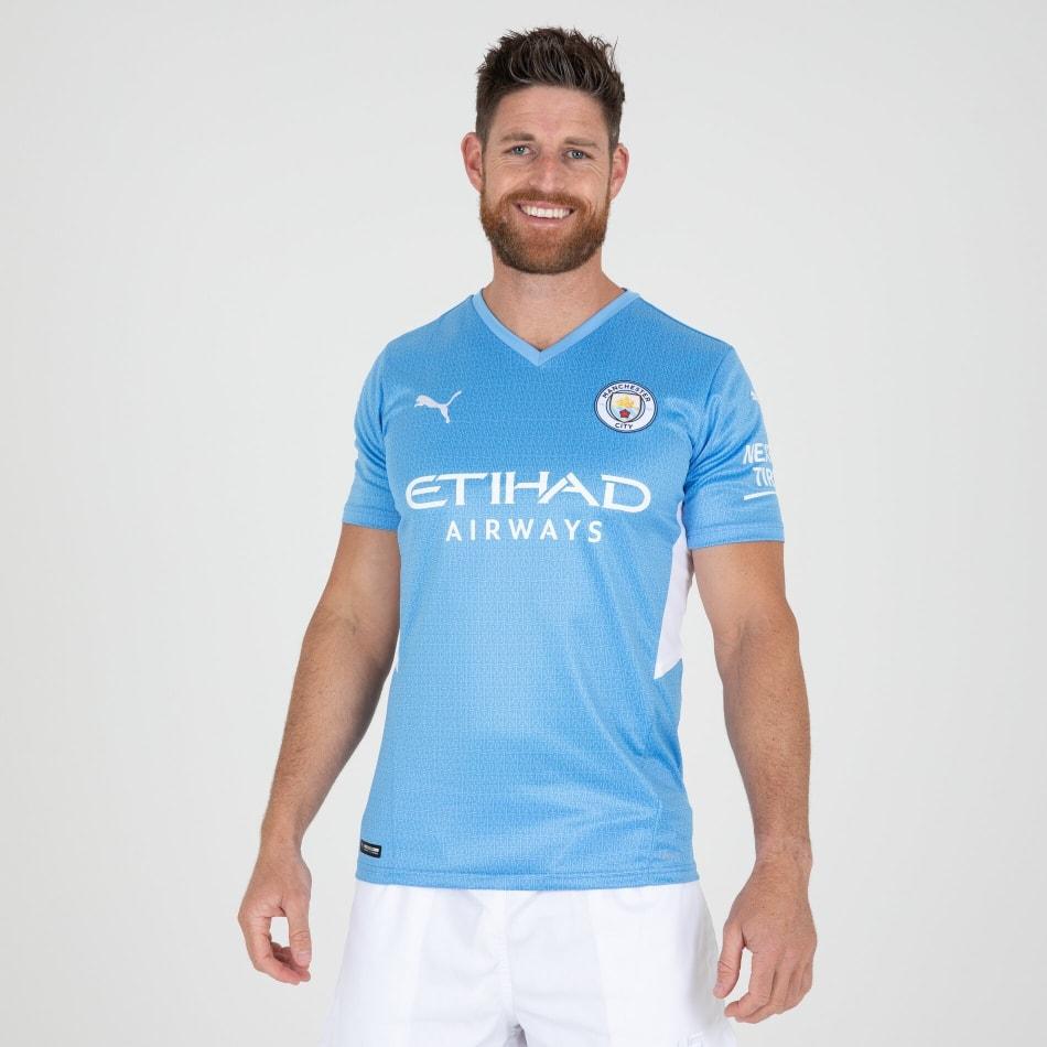 Man City Men's Home 21/22 Soccer Jersey, product, variation 3