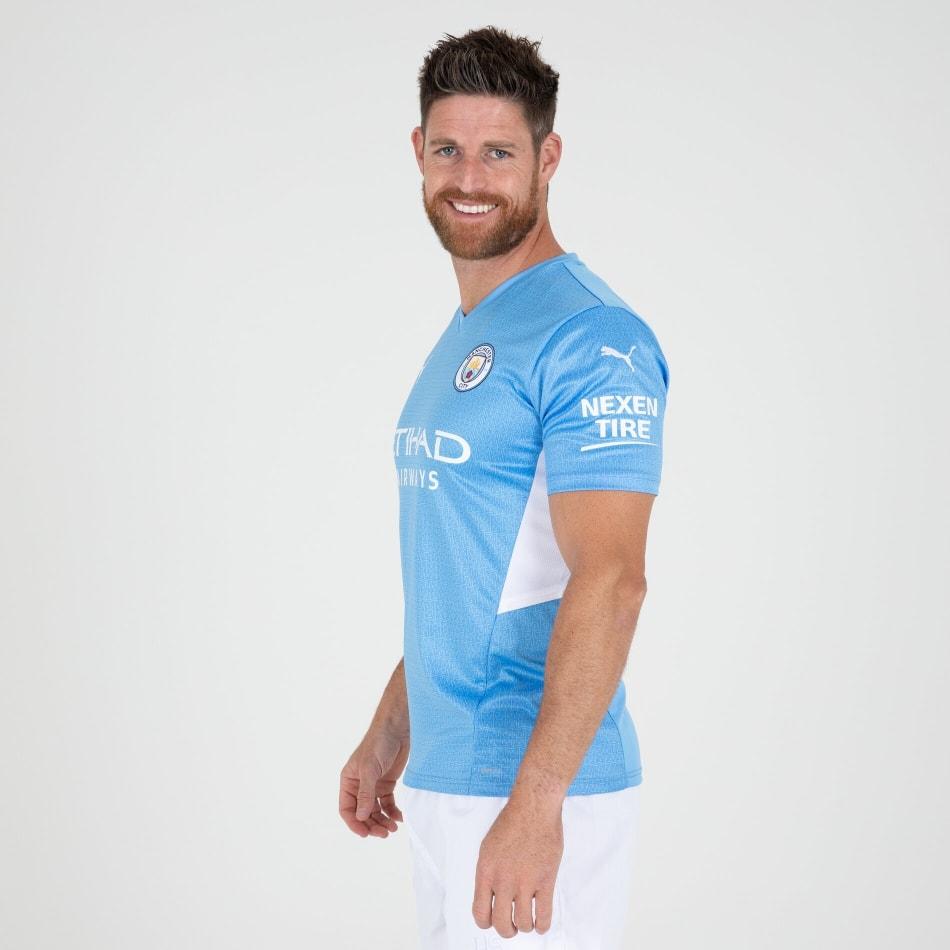 Man City Men's Home 21/22 Soccer Jersey, product, variation 4