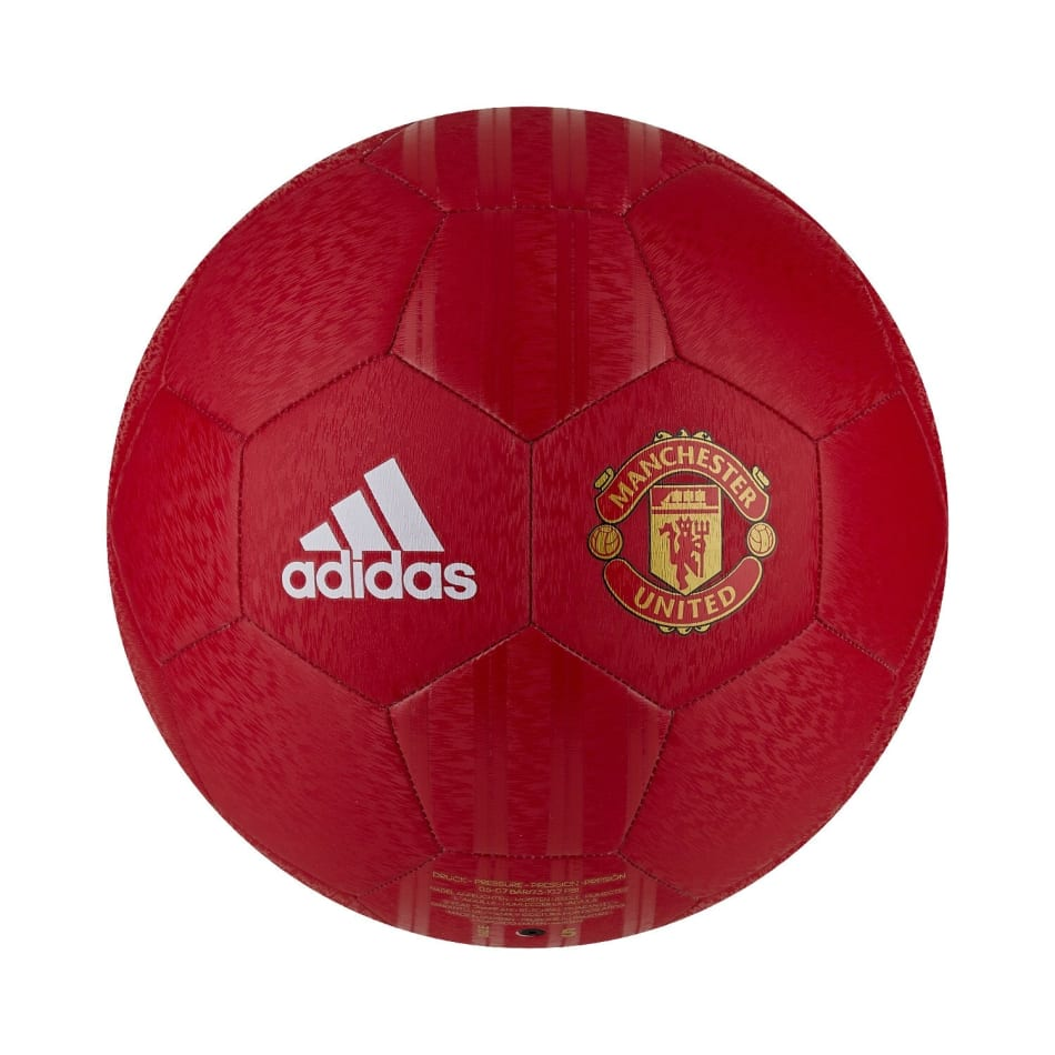 adidas Manchester United CLB Home Soccer Ball, product, variation 1