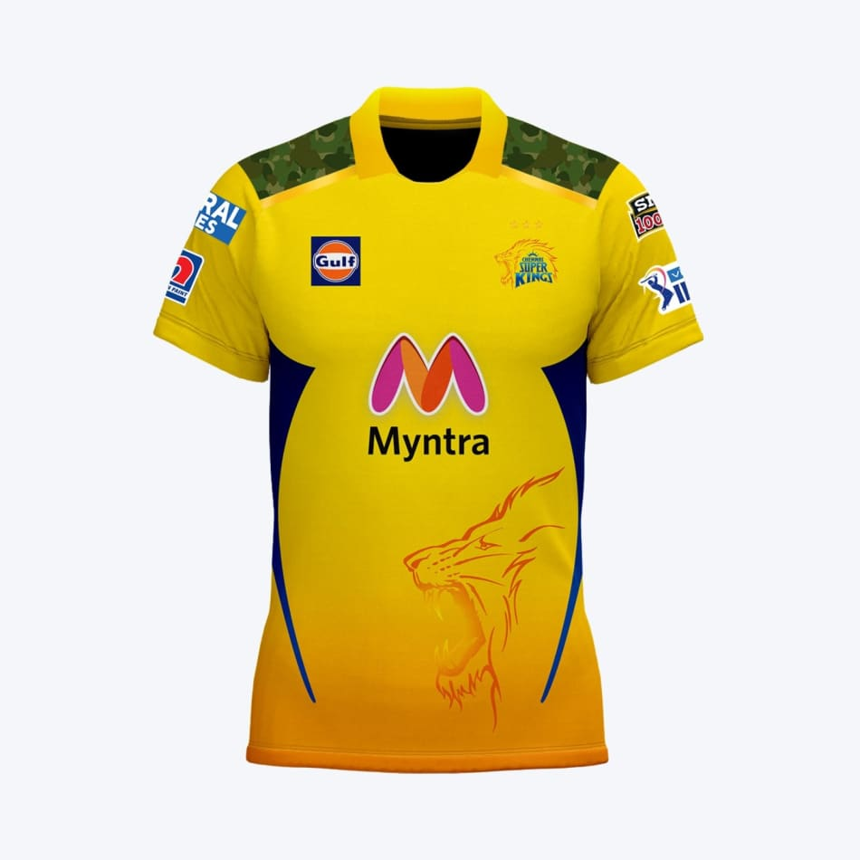 Chennai Super Kings Men's 2021 Match Jersey, product, variation 1