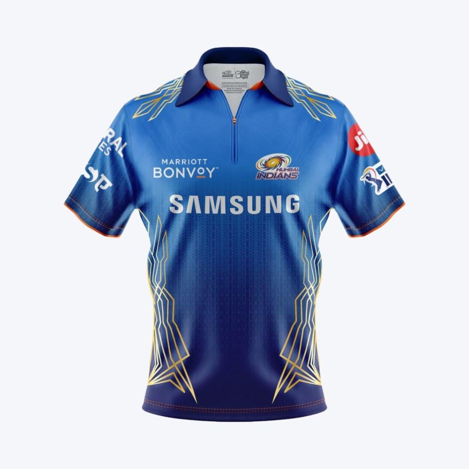 Mumbai Indians Men's 2021 Match Jersey, product, variation 1