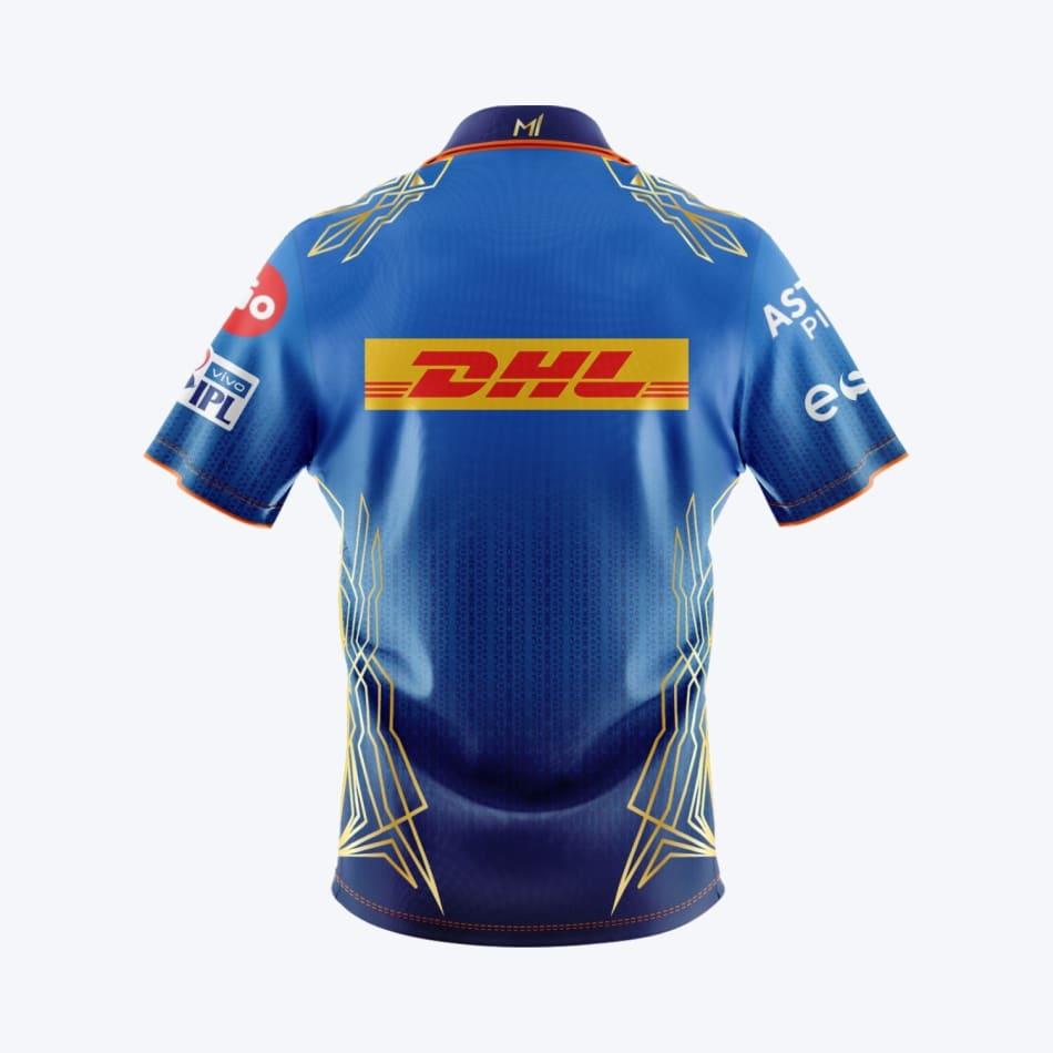Mumbai Indians Men's 2021 Match Jersey, product, variation 2