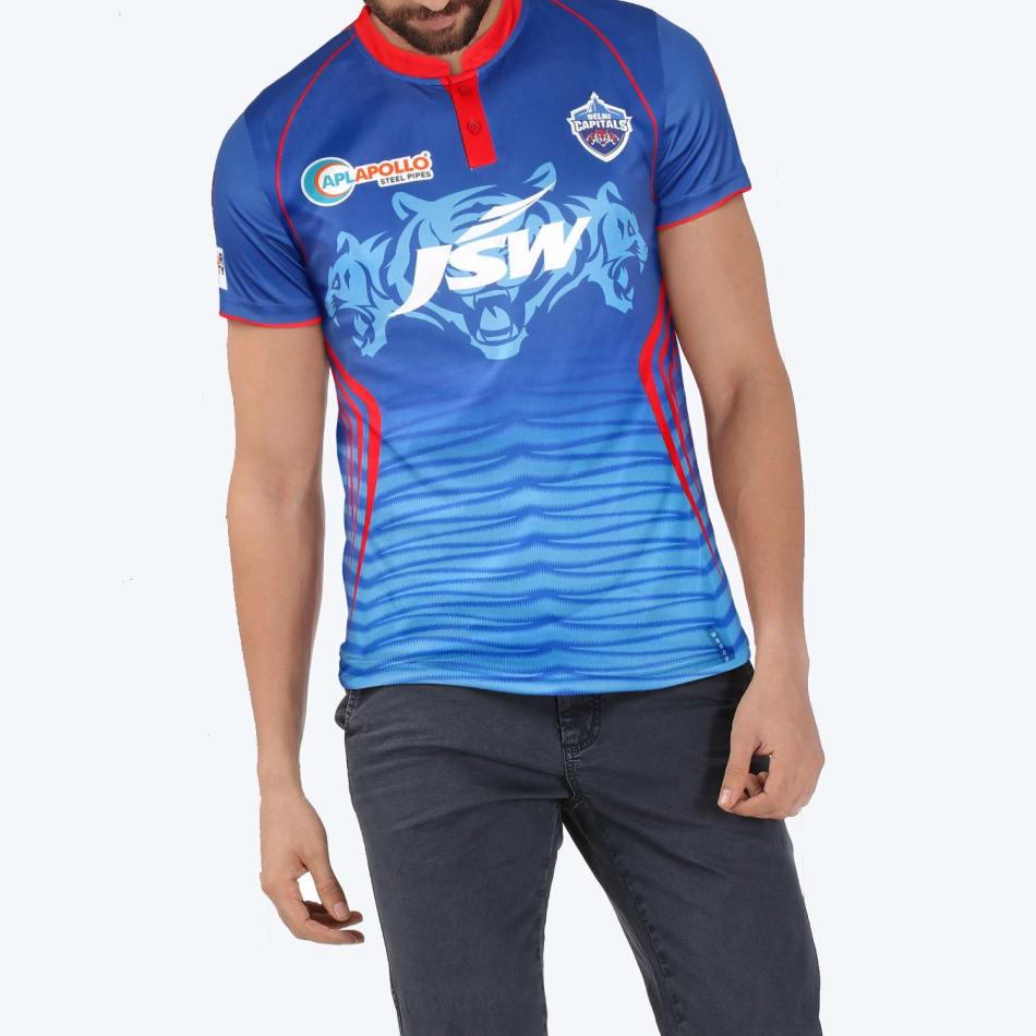 Delhi Capitals Men's 2021 Match Jersey, product, variation 1