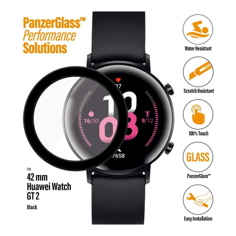 PanzerGlass Huawei GT2 42mm Screen Protector, product, variation 1