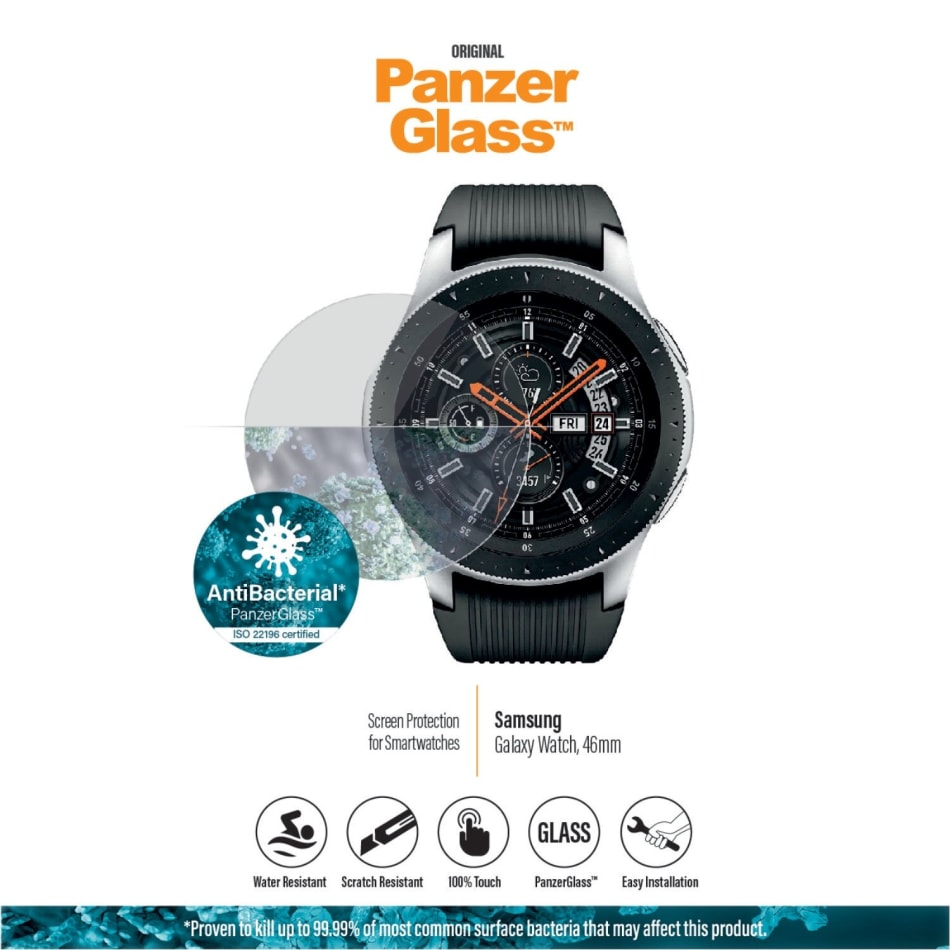 PanzerGlass Samsung Galaxy Watch (46mm) Screen Protector, product, variation 1