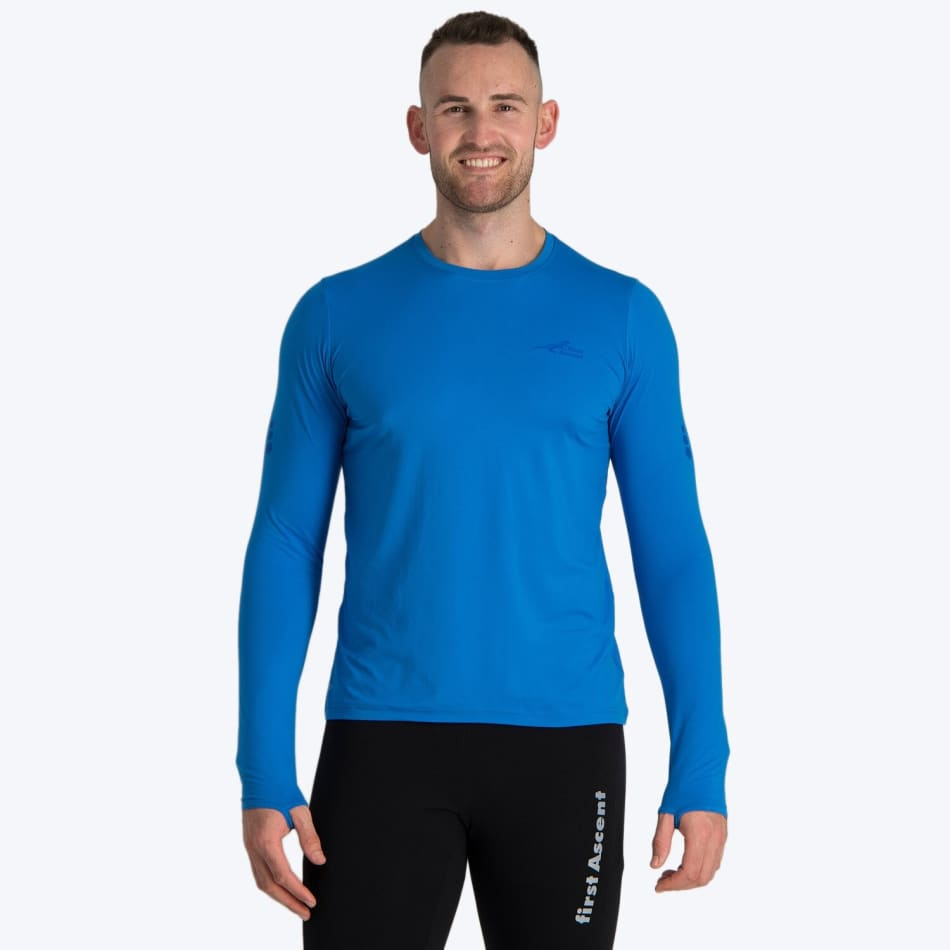 First Ascent Men's Corefit Run Long Sleeve, product, variation 1