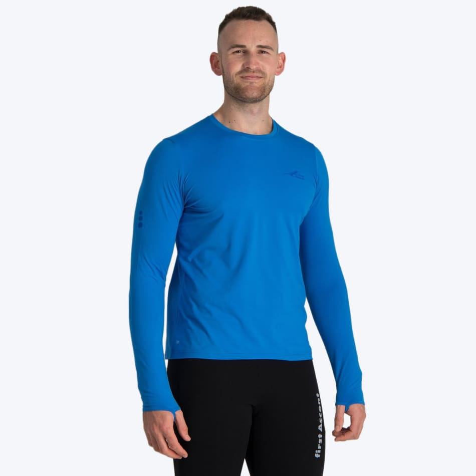 First Ascent Men's Corefit Run Long Sleeve, product, variation 2