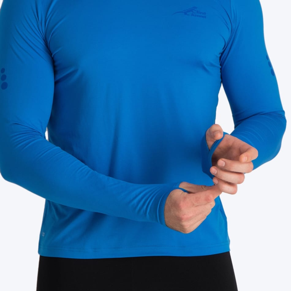 First Ascent Men's Corefit Run Long Sleeve, product, variation 5
