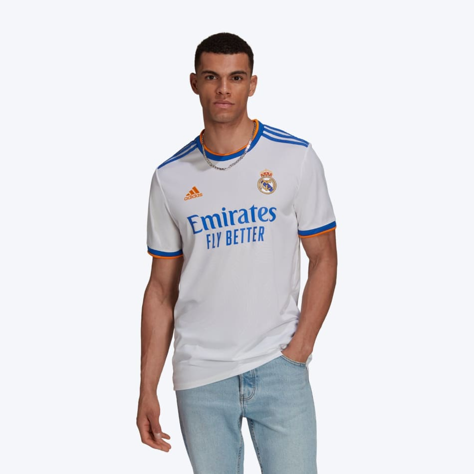 Real Madrid Men's Home 21/22 Soccer Jersey, product, variation 1