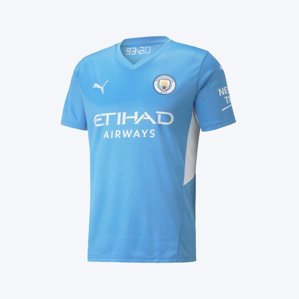 Man City Men's Home 21/22 Soccer Jersey, product, variation 2