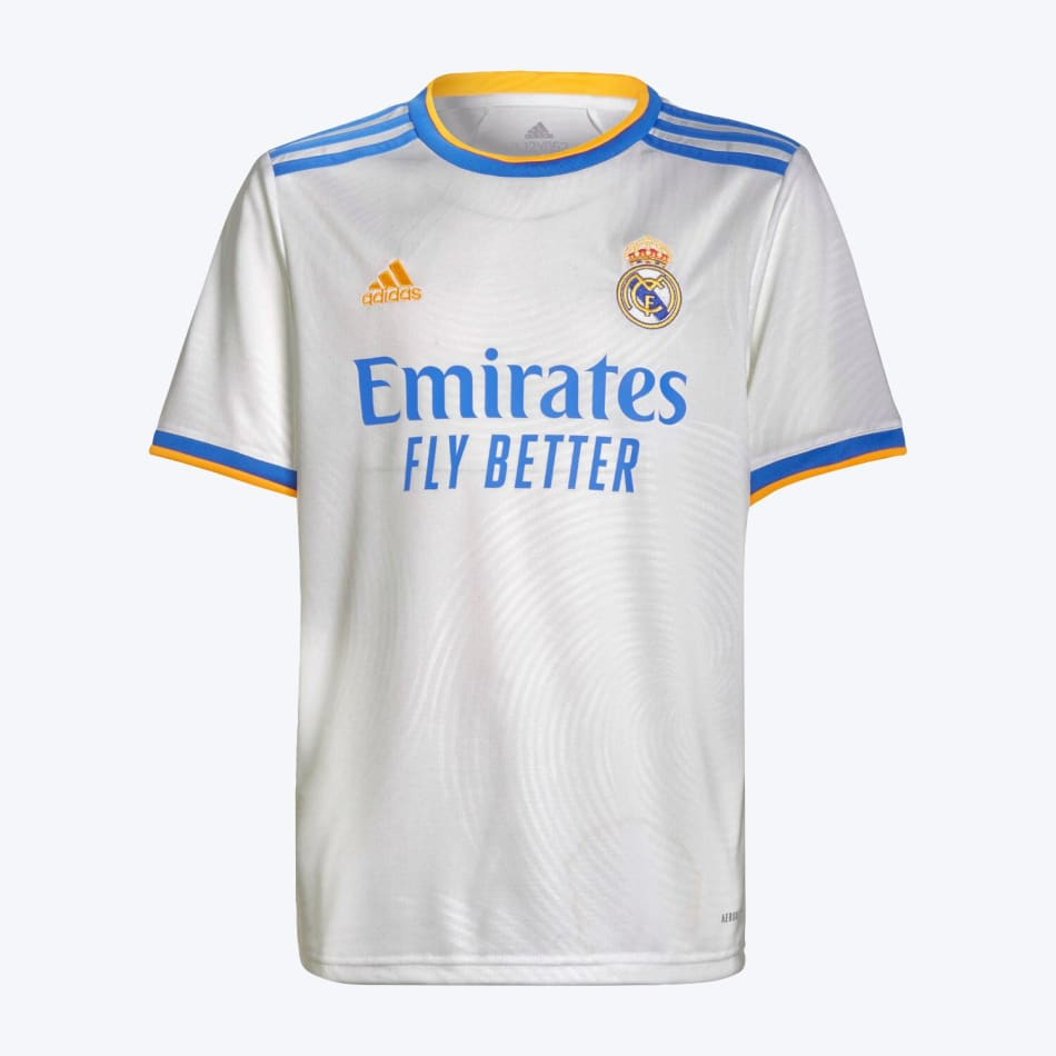 Real Madrid Junior Home 21/22 Soccer Jersey, product, variation 1