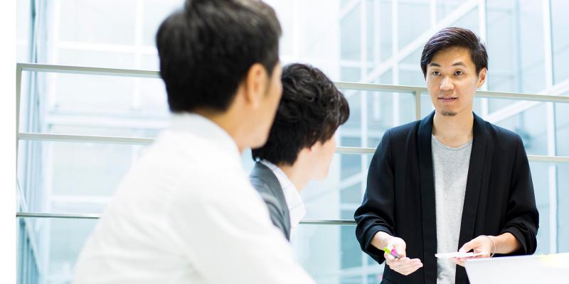 クライアントに一番近いポジションで、事業課題を導く