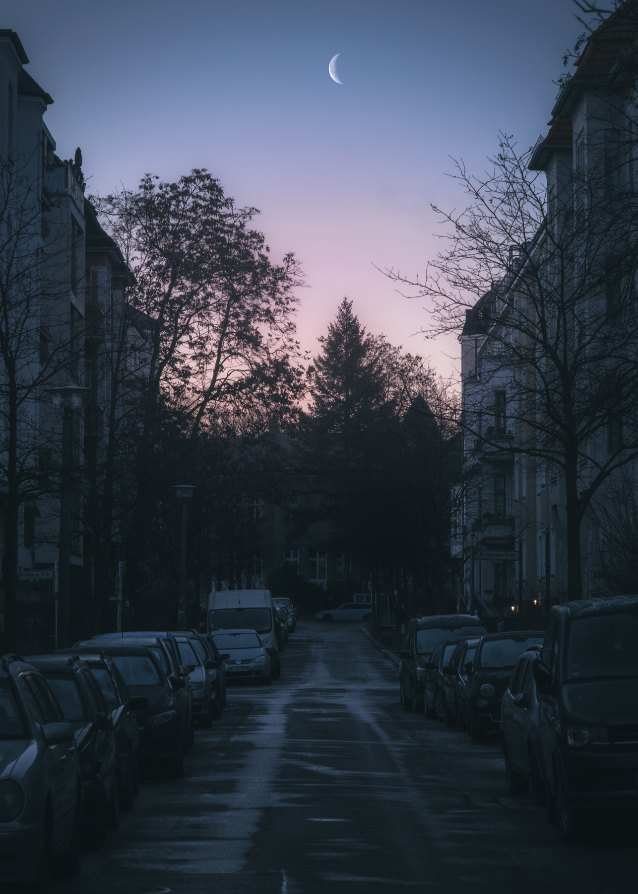 Dawn in Pankow