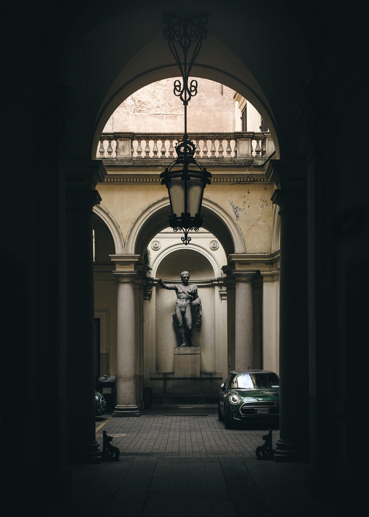 Rome courtyard