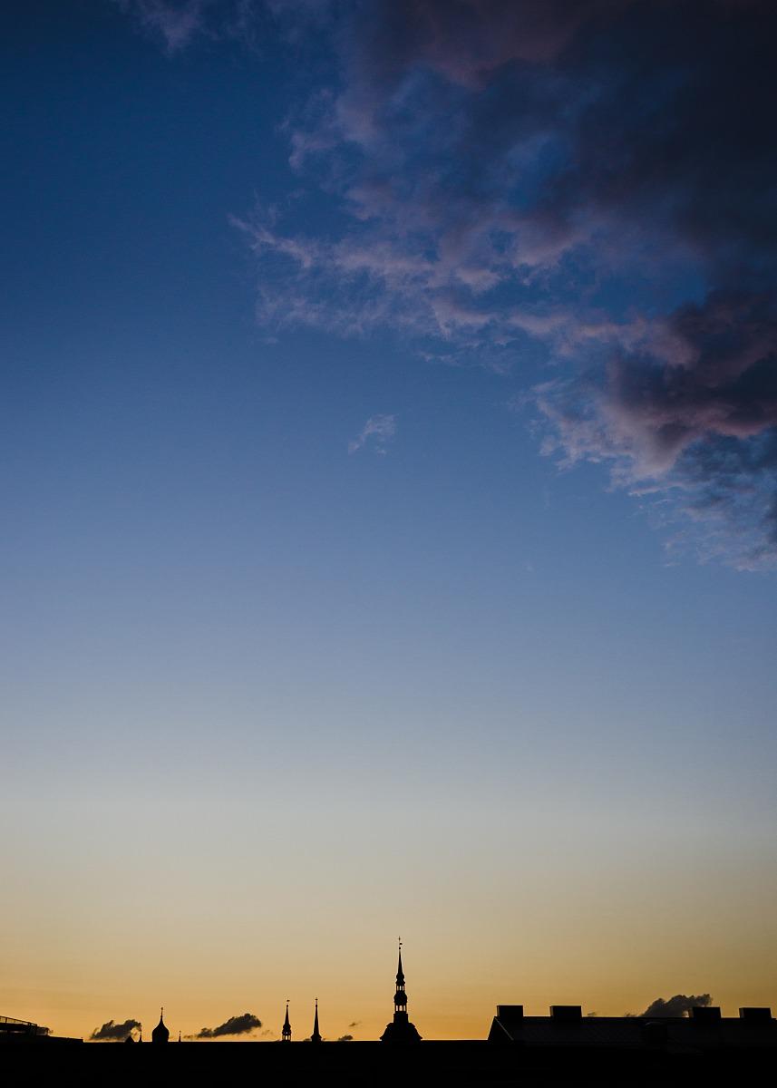 Twilight in Tallinn