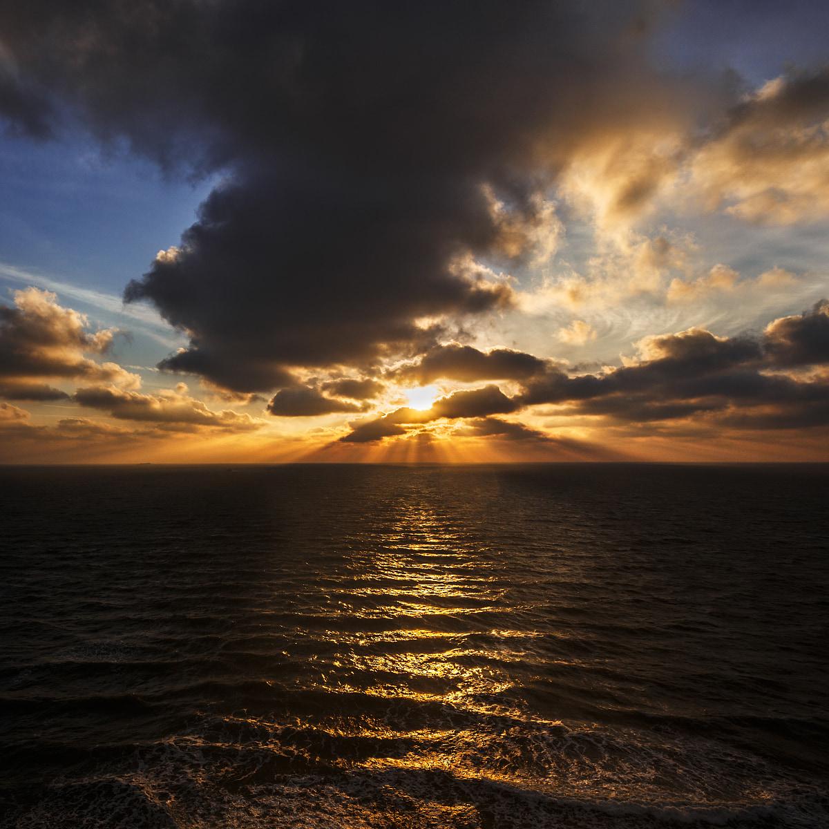 Sunrise at Baltic Sea