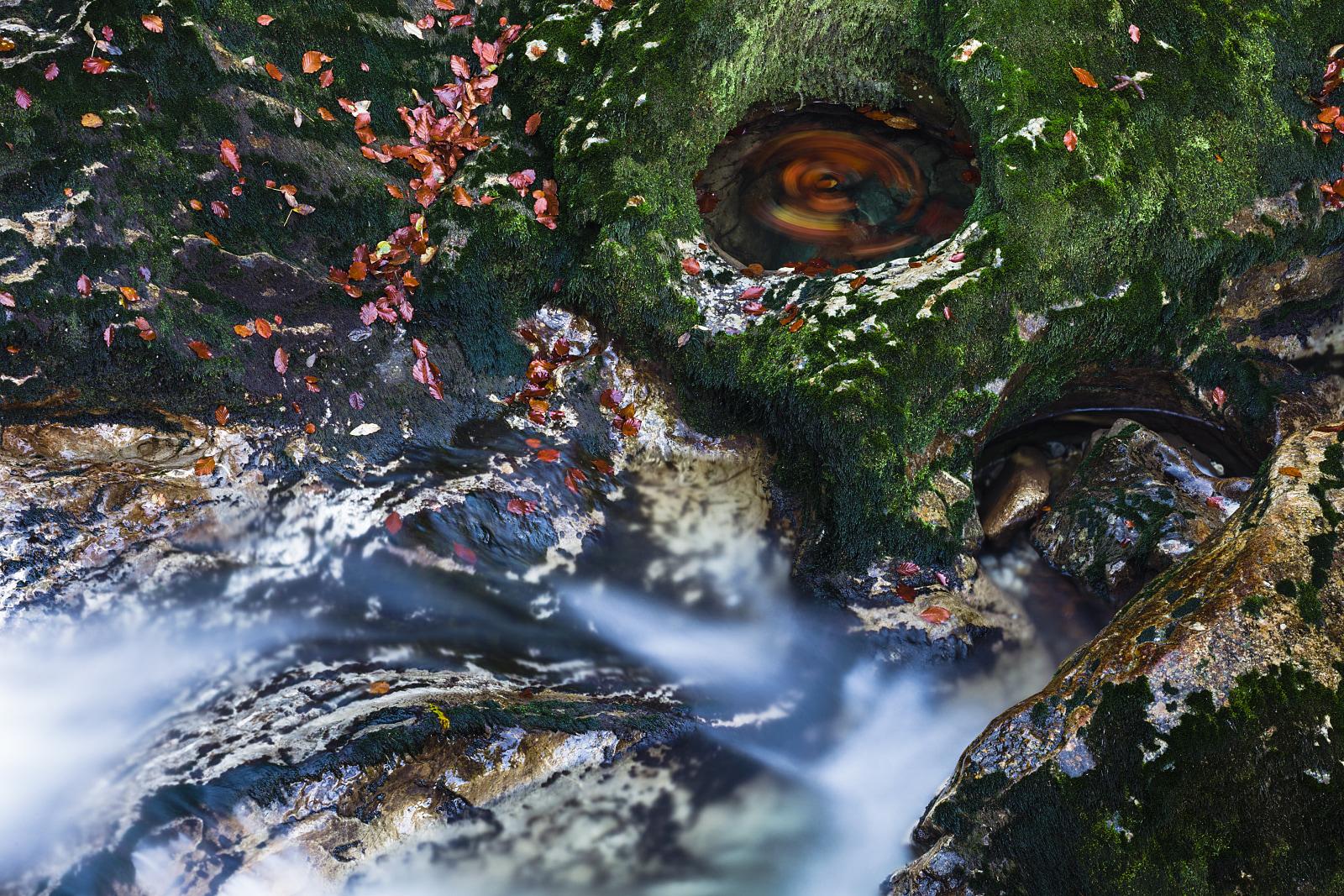 Vintgar Gorge close up