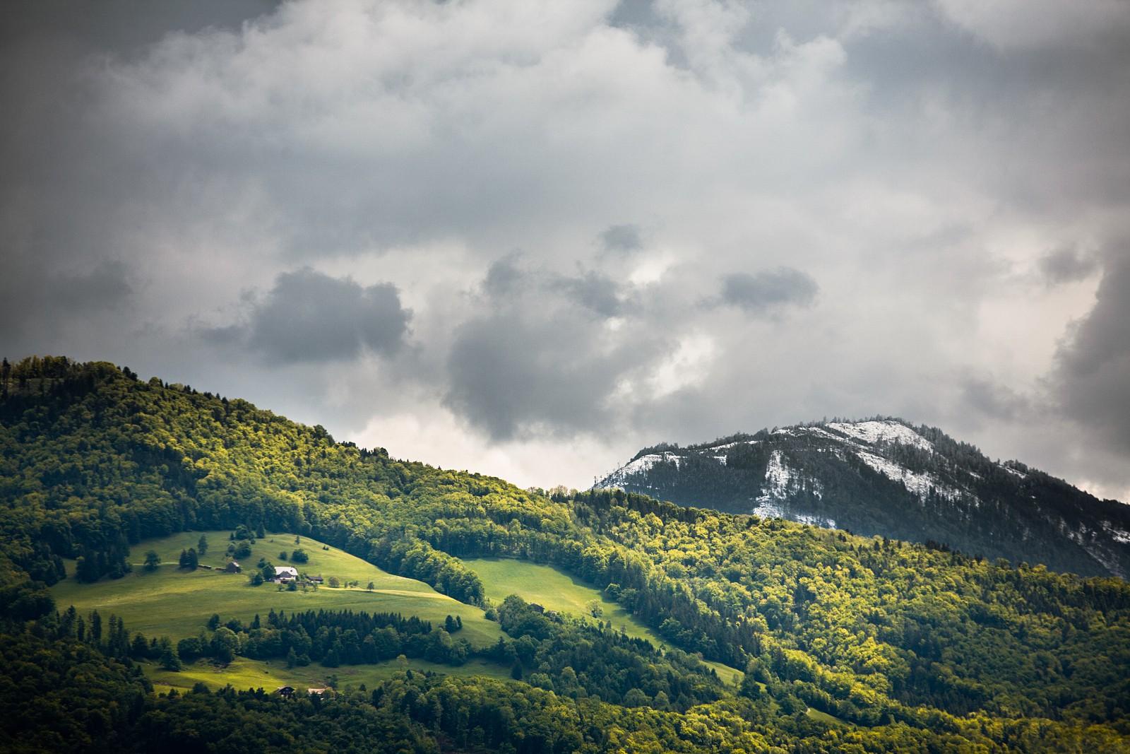 Mountains near Salzburg