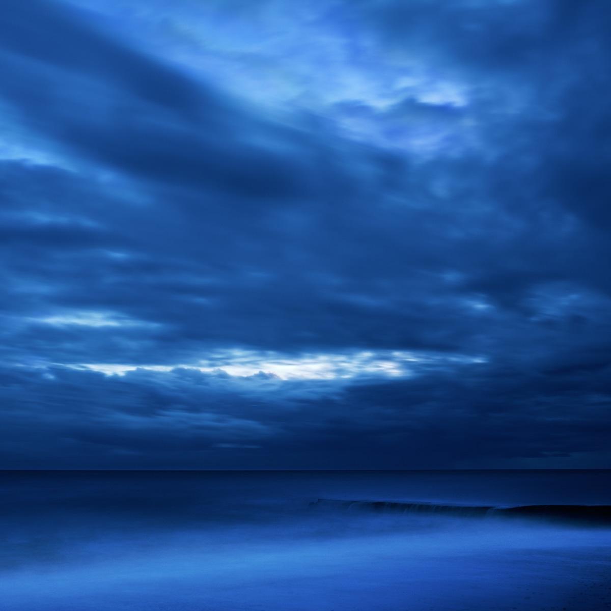 Black Sea in twilight